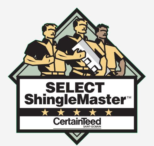 Select ShingleMaster CetainTeed